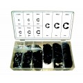 FD-6005 Set E-clip obročev,300 kos