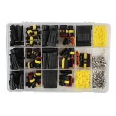 MTC 37225 Set sestavljivih konektorjev 1-6 pin, 424 kos
